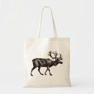 Elk Deer Reindeer Tote Bag