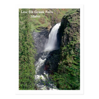 Elk Greek Falls, Idaho Postcard