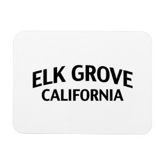 Elk Grove California Vinyl Magnets