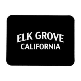 Elk Grove California Vinyl Magnet