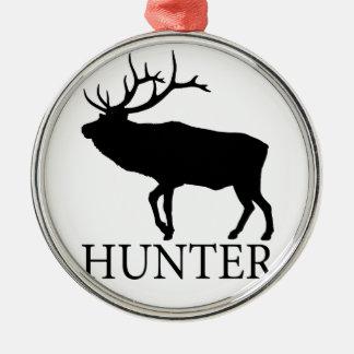 Elk Hunter Christmas Ornament
