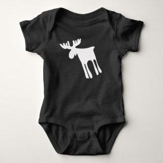 Elk/Moose Baby Bodysuit