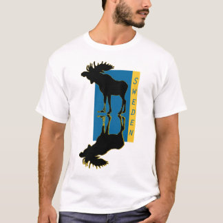elk Moose Elch sweden T-Shirt