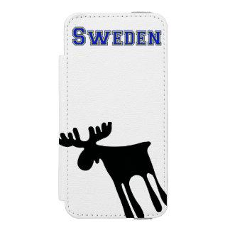 Elk/Moose, Sweden Incipio Watson™ iPhone 5 Wallet Case