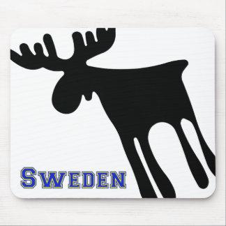 Elk/Moose, Sweden Mouse Mat