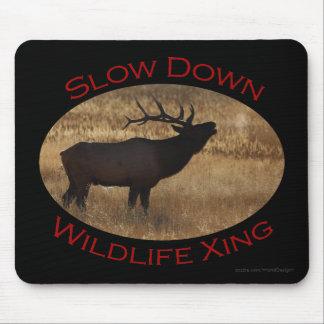 elk mouse pad