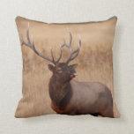 elk raspberry cushion