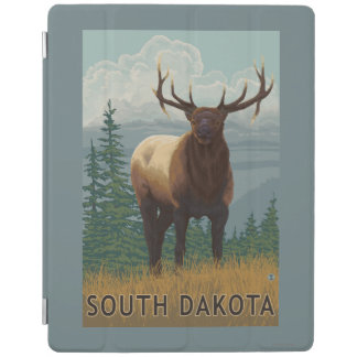 Elk SceneSouth Dakota iPad Cover