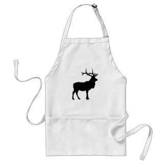 Elk Silhouette Standard Apron