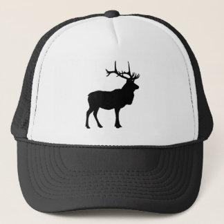 Elk Silhouette Trucker Hat