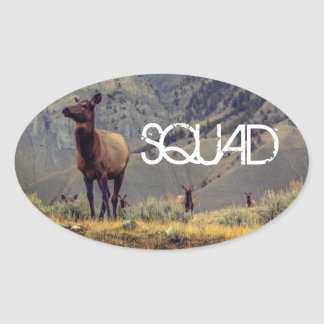 "Elk ""Squad"" Sticker"