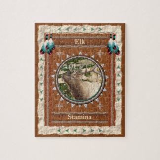 Elk  -Stamina- Jigsaw Puzzle w/ Box