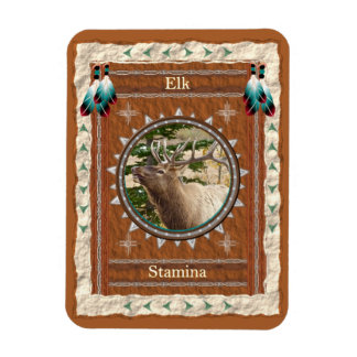 Elk  -Stamina- Vinyl Flexi Magnet