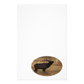 elk personalized stationery