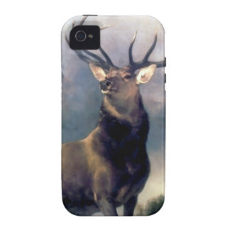 Elk wild animal painting case for the iPhone 4