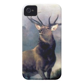 Elk wild animal painting iPhone 4 cover