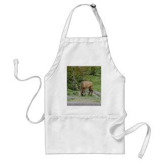 Elk With Velvet Antlers Standard Apron