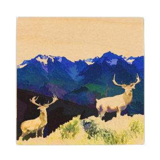 Elk Wood Coaster