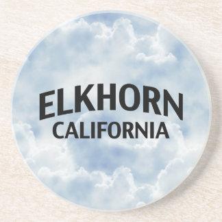 Elkhorn California Drink Coaster
