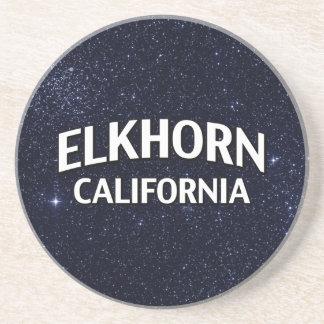 Elkhorn California Beverage Coaster