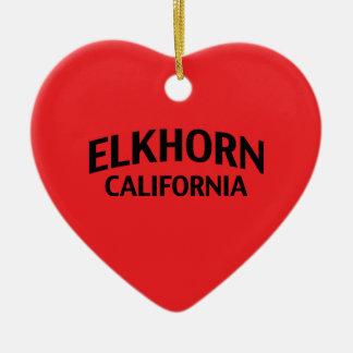 Elkhorn California Christmas Tree Ornament