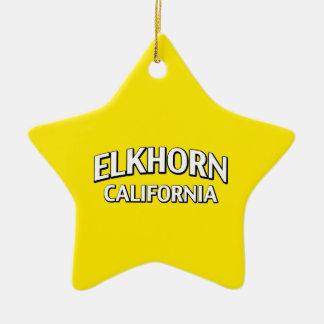 Elkhorn California Ornaments