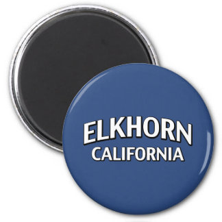 Elkhorn California Fridge Magnet