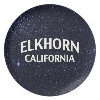 Elkhorn California Plate