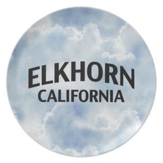 Elkhorn California Dinner Plate