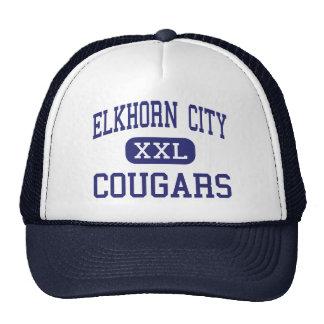 Elkhorn City - Cougars - High - Elkhorn City Mesh Hat