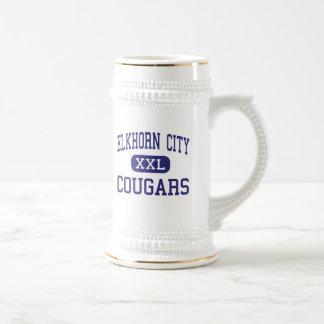 Elkhorn City - Cougars - High - Elkhorn City Mug