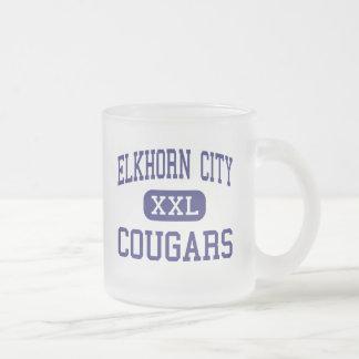 Elkhorn City - Cougars - High - Elkhorn City Coffee Mug