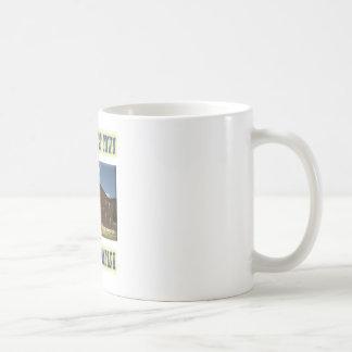Elkhorn Ghost Town Basic White Mug