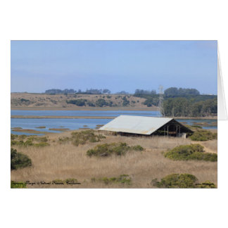 Elkhorn Slough Natural Reserve Panoramic Greeting Card