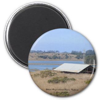 Elkhorn Slough Natural Reserve Panoramic Refrigerator Magnets