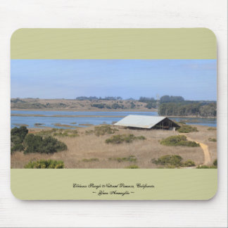 Elkhorn Slough Natural Reserve Panoramic Mouse Pad