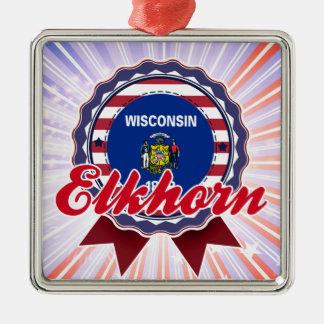 Elkhorn, WI Ornaments