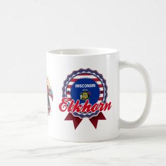 Elkhorn, WI Coffee Mug