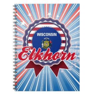 Elkhorn WI Note Book