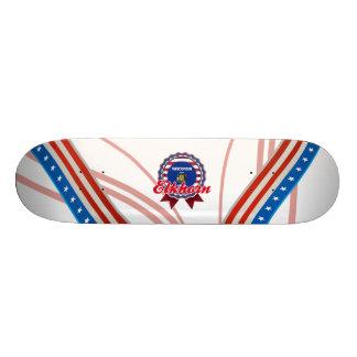 Elkhorn WI Skateboard Deck