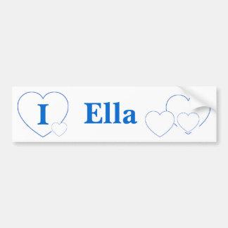 Ella (BpS) Bumper Sticker