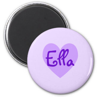 Ella in Purple Magnet