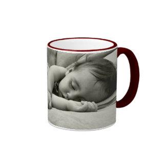 Ella Sleeping Ringer Mug