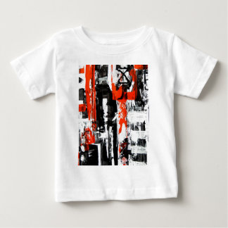 Elle-abstract-009-1620-Original-Abstract-Art-untit Baby T-Shirt