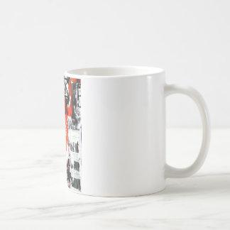 Elle-abstract-009-1620-Original-Abstract-Art-untit Basic White Mug