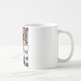 Elle-abstract-009-1620-Original-Abstract-Art-untit Basic White Mug