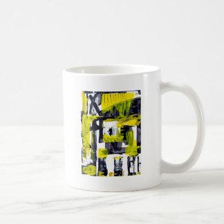 Elle-abstract-010-1620-Original-Abstract-Art-untit Basic White Mug