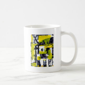 Elle-abstract-010-1620-Original-Abstract-Art-untit Basic White Mug