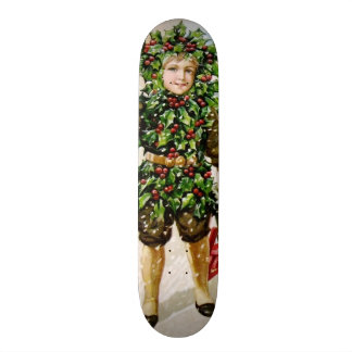 Ellen Clapsaddle: Holly Boy with Toys Skateboard