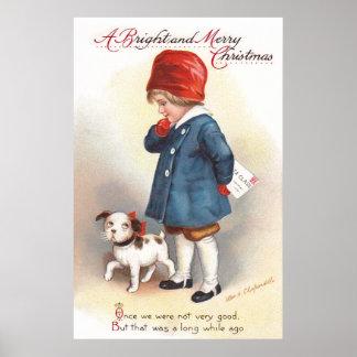 Ellen H. Clapsaddle: A Letter to Santa Poster